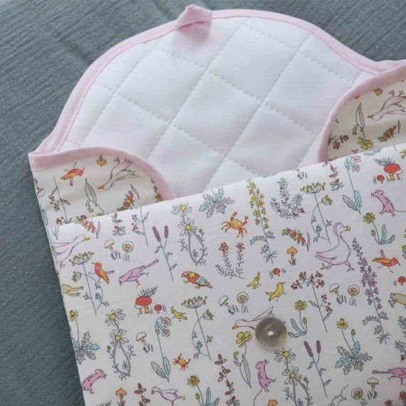 Pink Alice Fold and Go Changing Mat