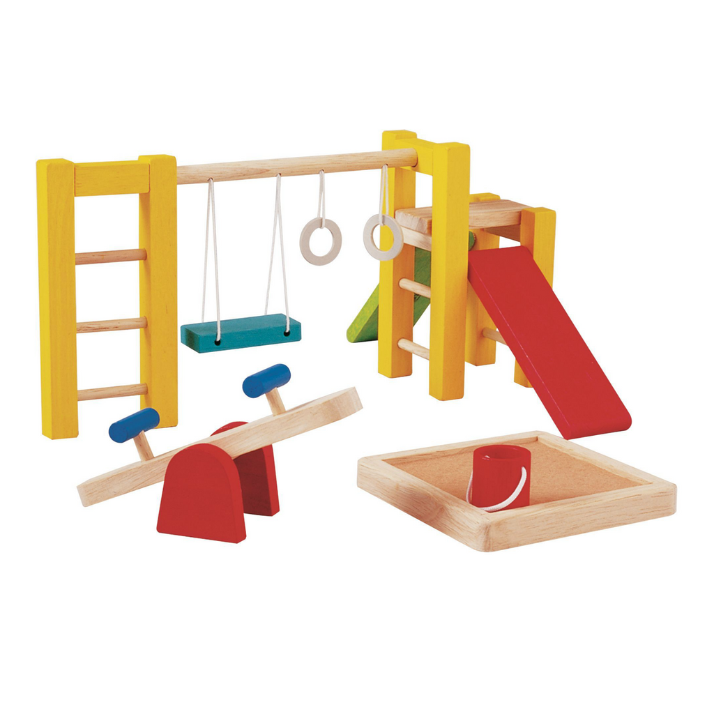 Plan Toys Dollhouse Playground Set