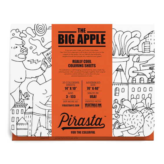 Pirasta The Big Apple Coloring Sheets