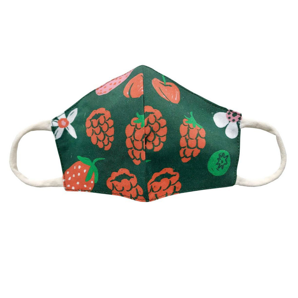 Phoebe Wahl Evergreen Shortcake Child's Face Mask