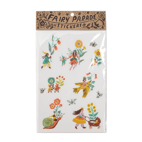 Phoebe Wahl Fairy Parade  Stickers
