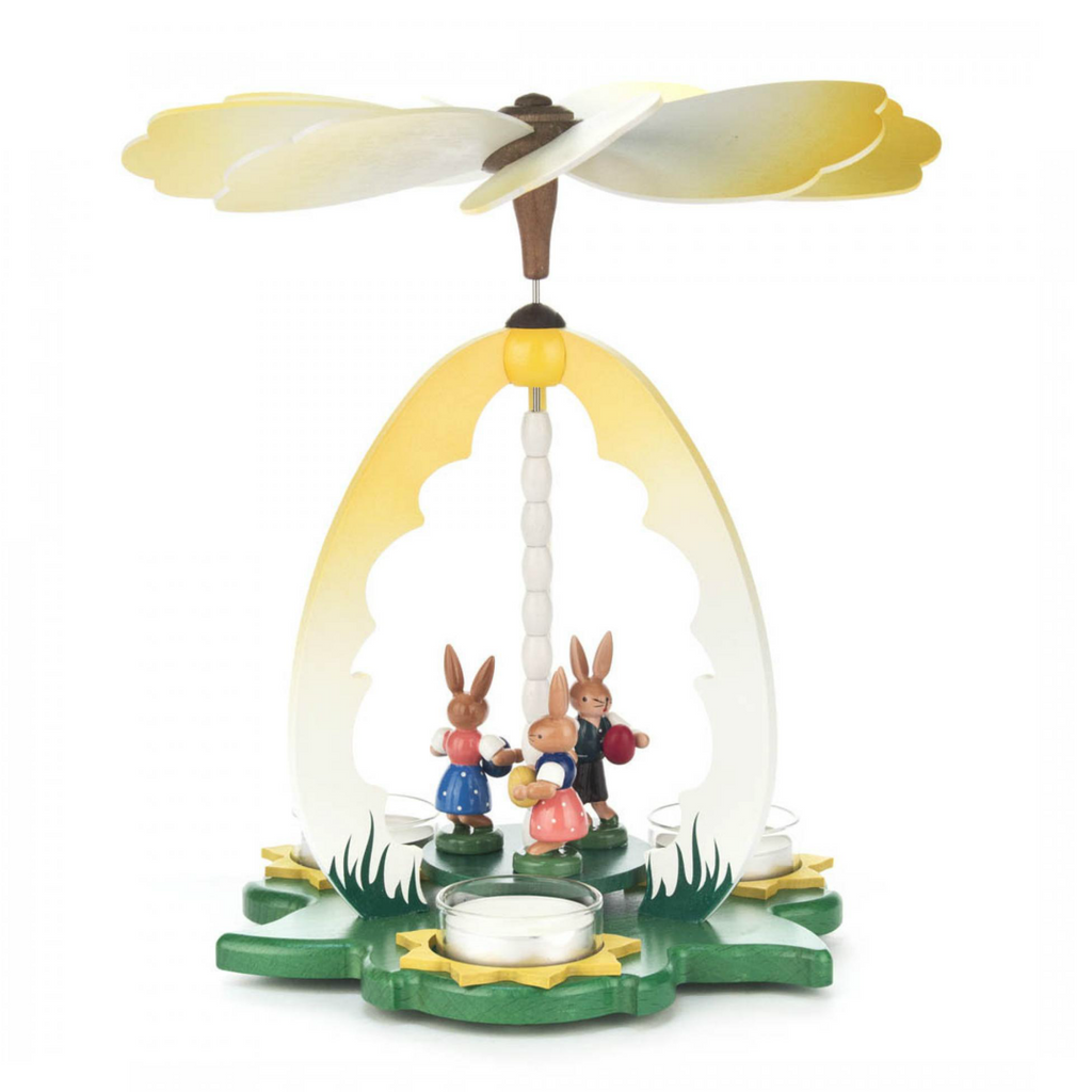 Easter Rabbit Decorative Pyramid