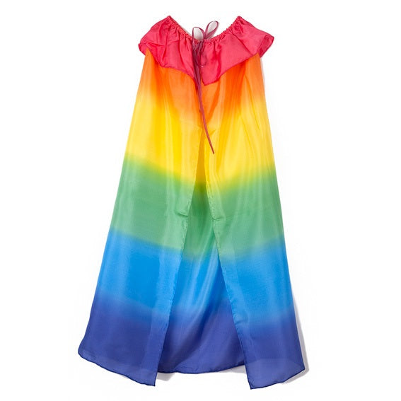 Sarahs Silks Rainbow Cape