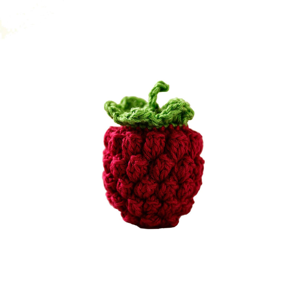 Crocheted Raspberry Set