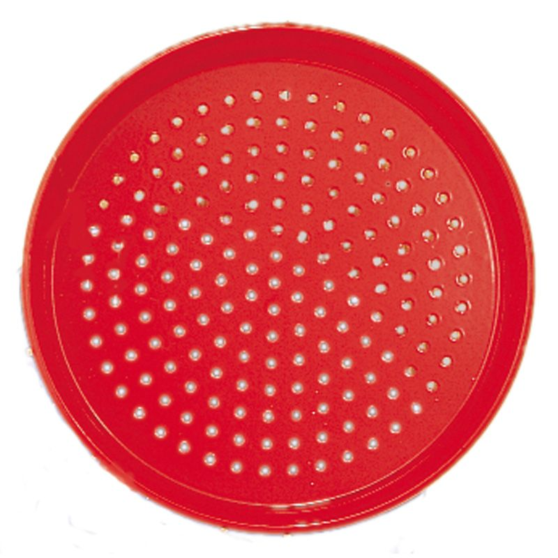 Red Metal Sand Sieve