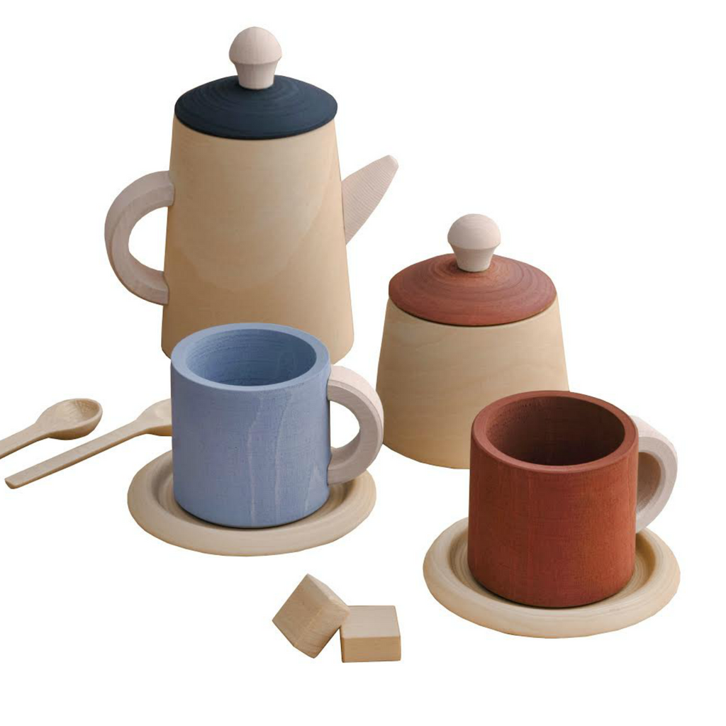Raduga Grez Terra and Blue Tea Set
