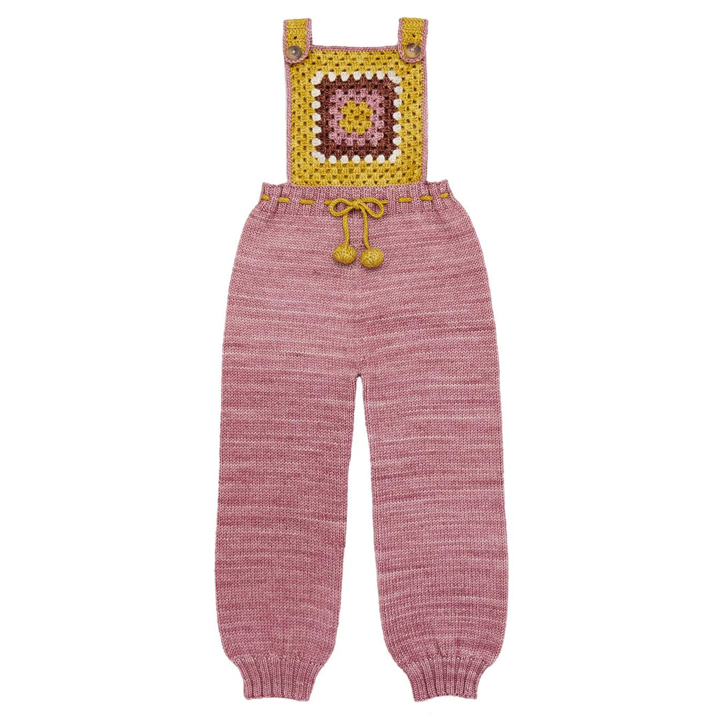 Misha and Puff Antique Rose Lake House Overalls