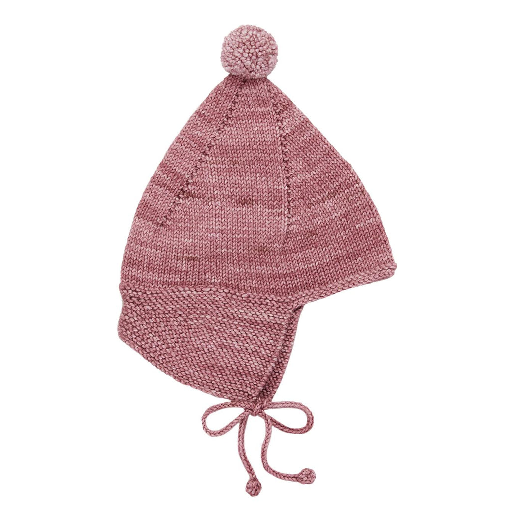 Misha and Puff Antique Rose Pointy Peak Hat