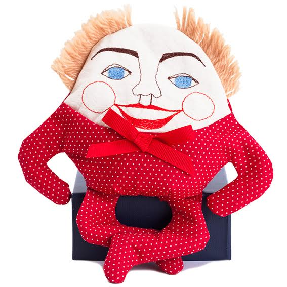 Humpty Dumpty Doll · Red Polka Dot