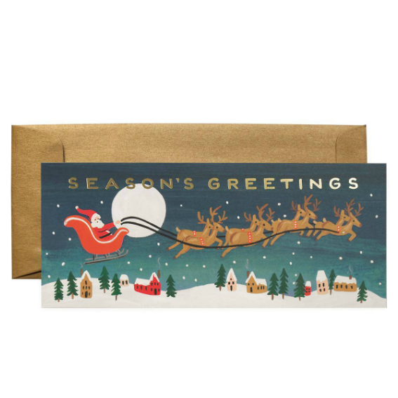 Rifle Santas Sleigh Gift Card