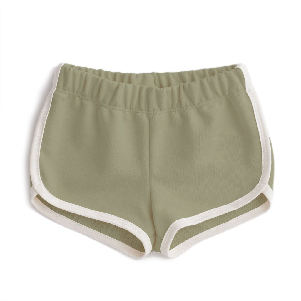 Winter Water Factory Sage French Terry Shorts