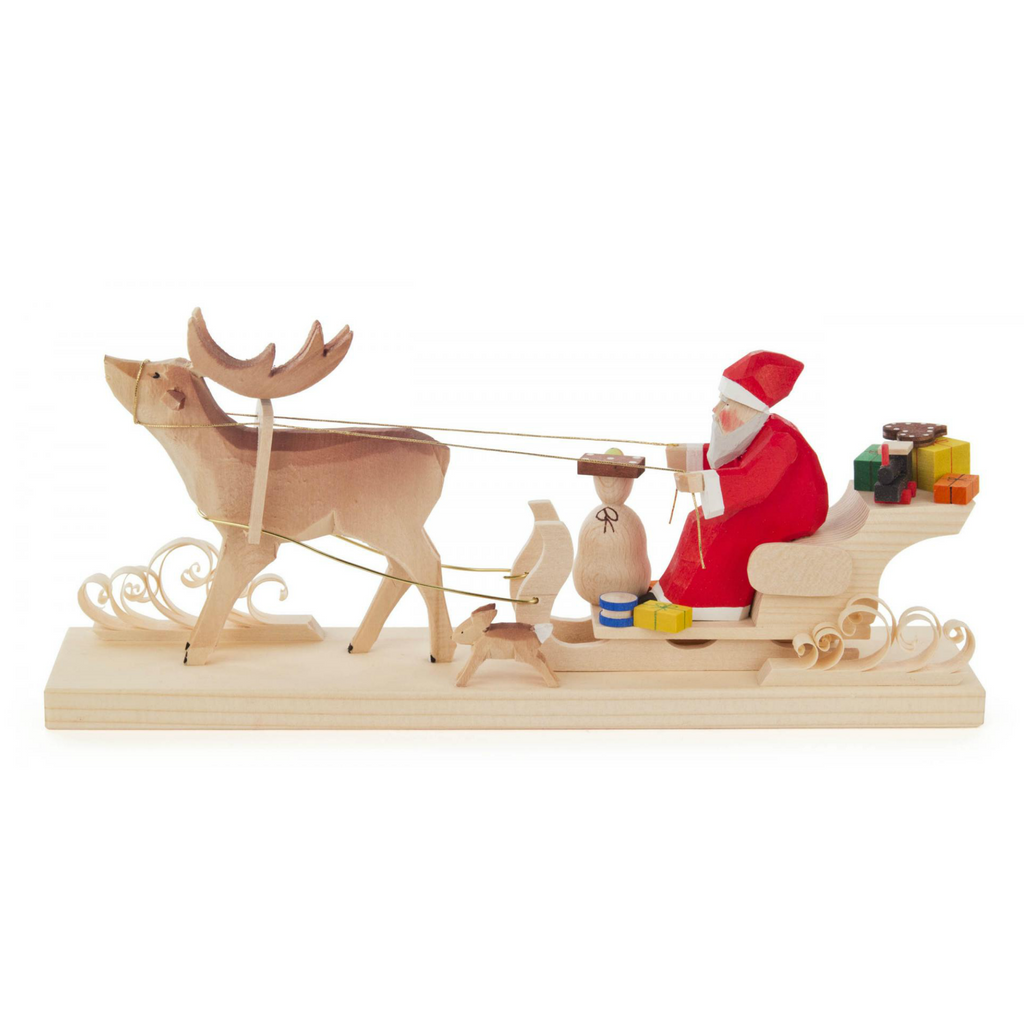 Santa's Sleigh Decorative Piece