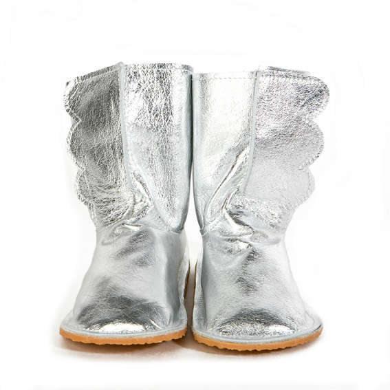 Silver Wing Boots