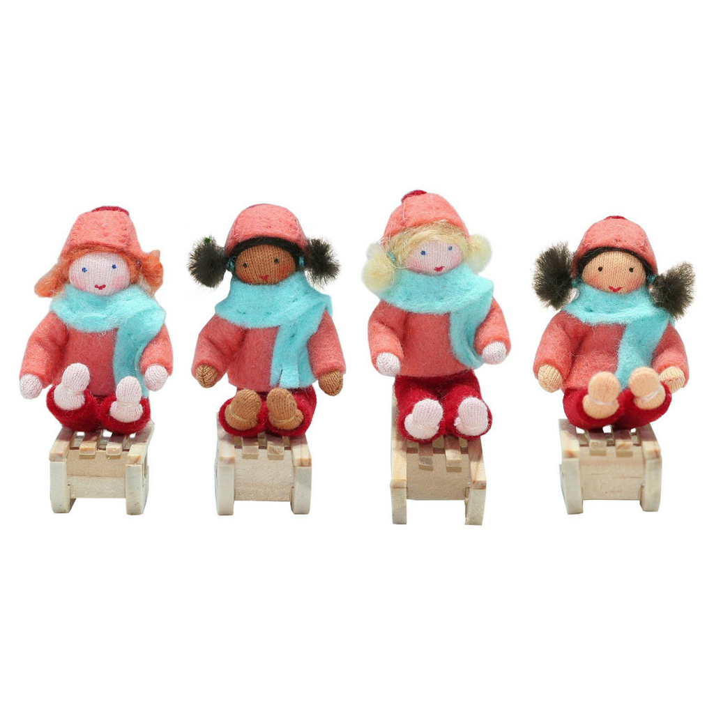 Sleigh Girls Ornaments