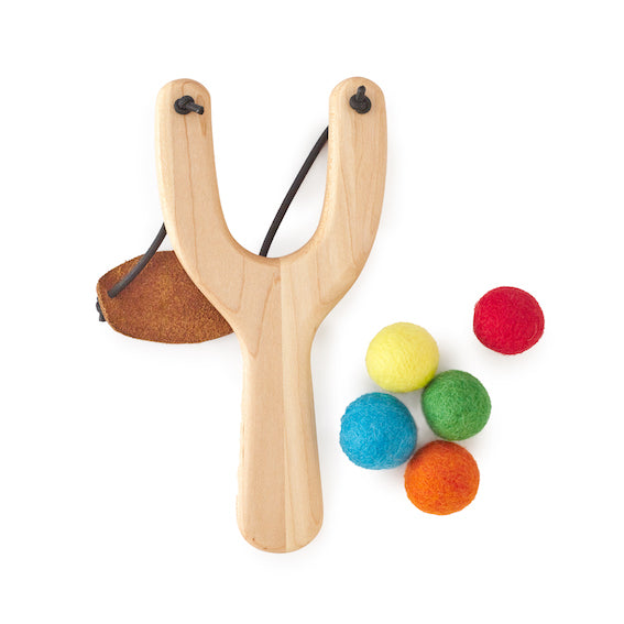 Wooden Slingshot Set