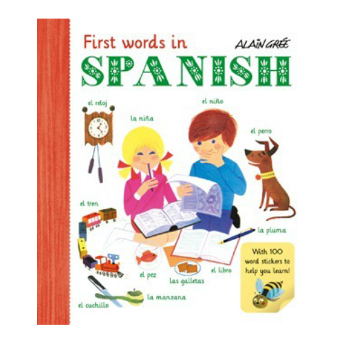 First words in Spanish by Alain Gree