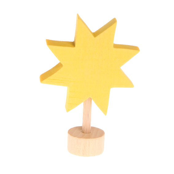 Grimm's Wooden Star Figurine