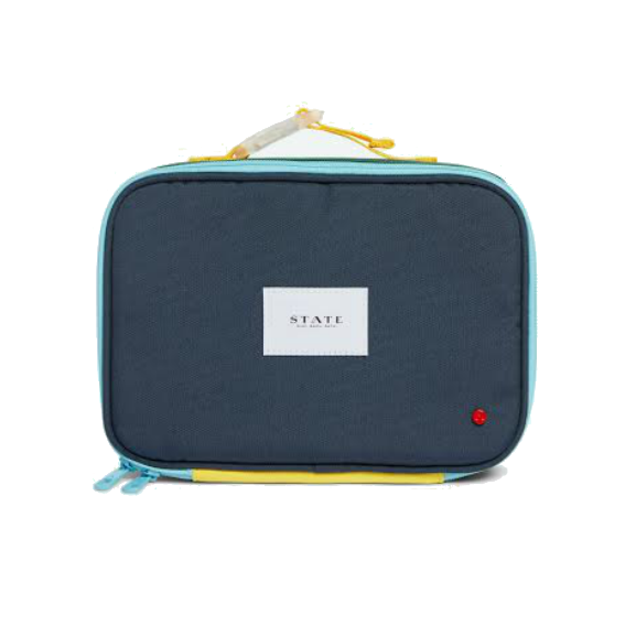 State Green Navy Lunchbox