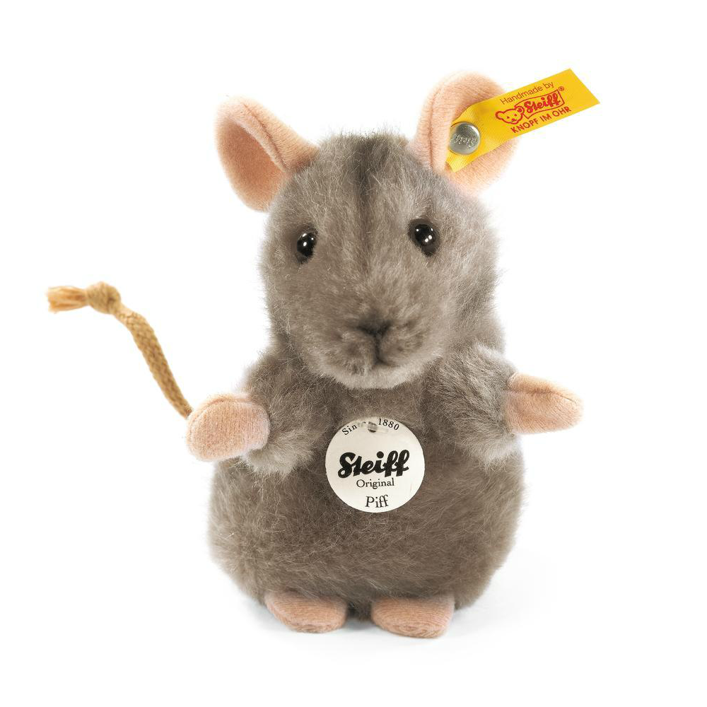 Steiff Grey Puff Mouse