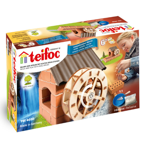 Teifoc Watermill Brick Construction Set
