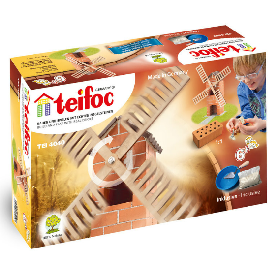 Teifoc Windmill Brick Construction Set