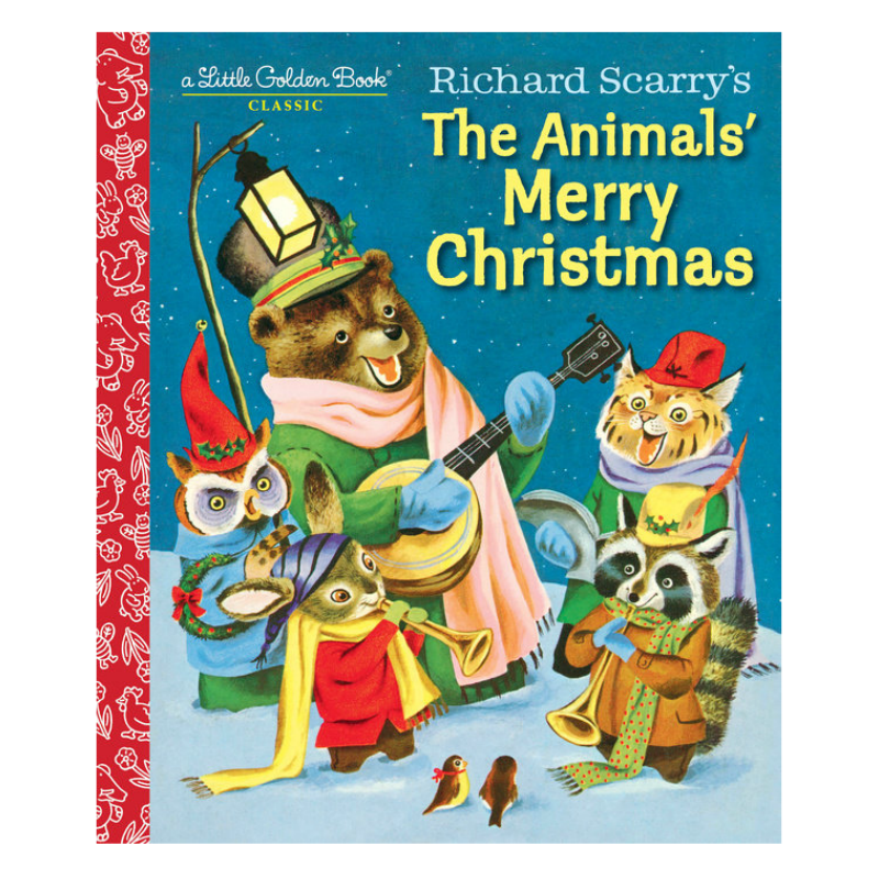 Richard Scarry's The Animals Merry Christmas