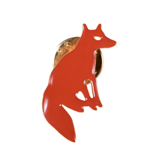 Titlee Fox Pin