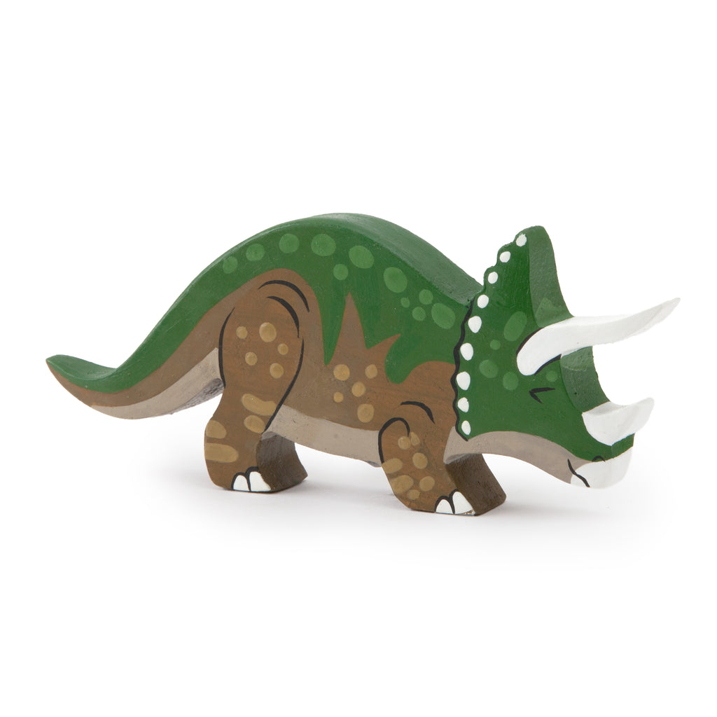 Wooden Triceratops