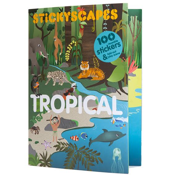 Tropical Sticker Activity Book
