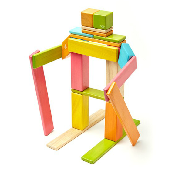 Tegu Tints Magnetic 24 Piece Block Set