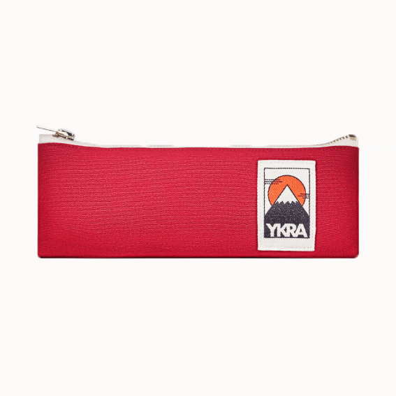 YKRA Red Pencil Case