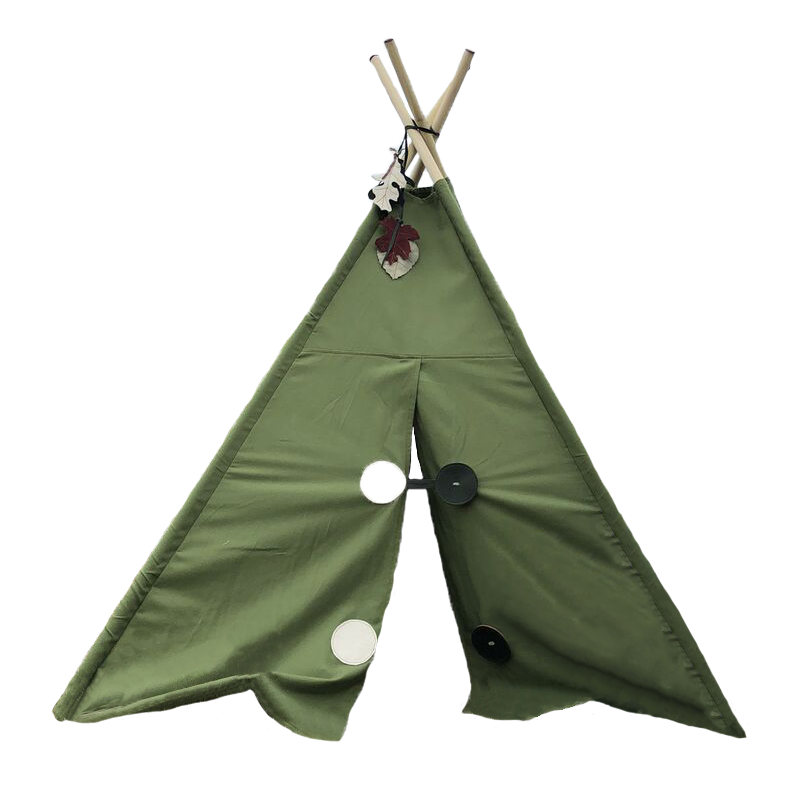 Manimal Sage Green Tent with Geometric Closures