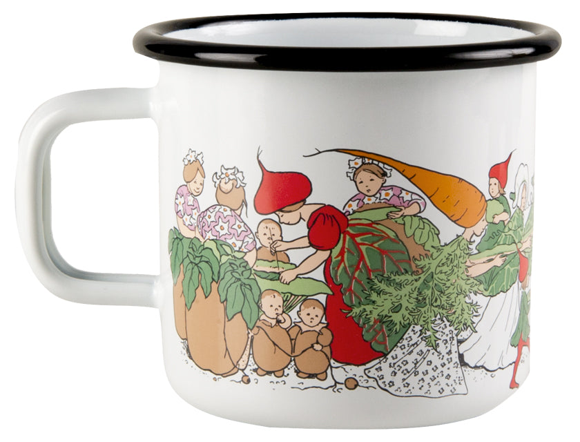 Elsa Beskow Vegetable People Mug