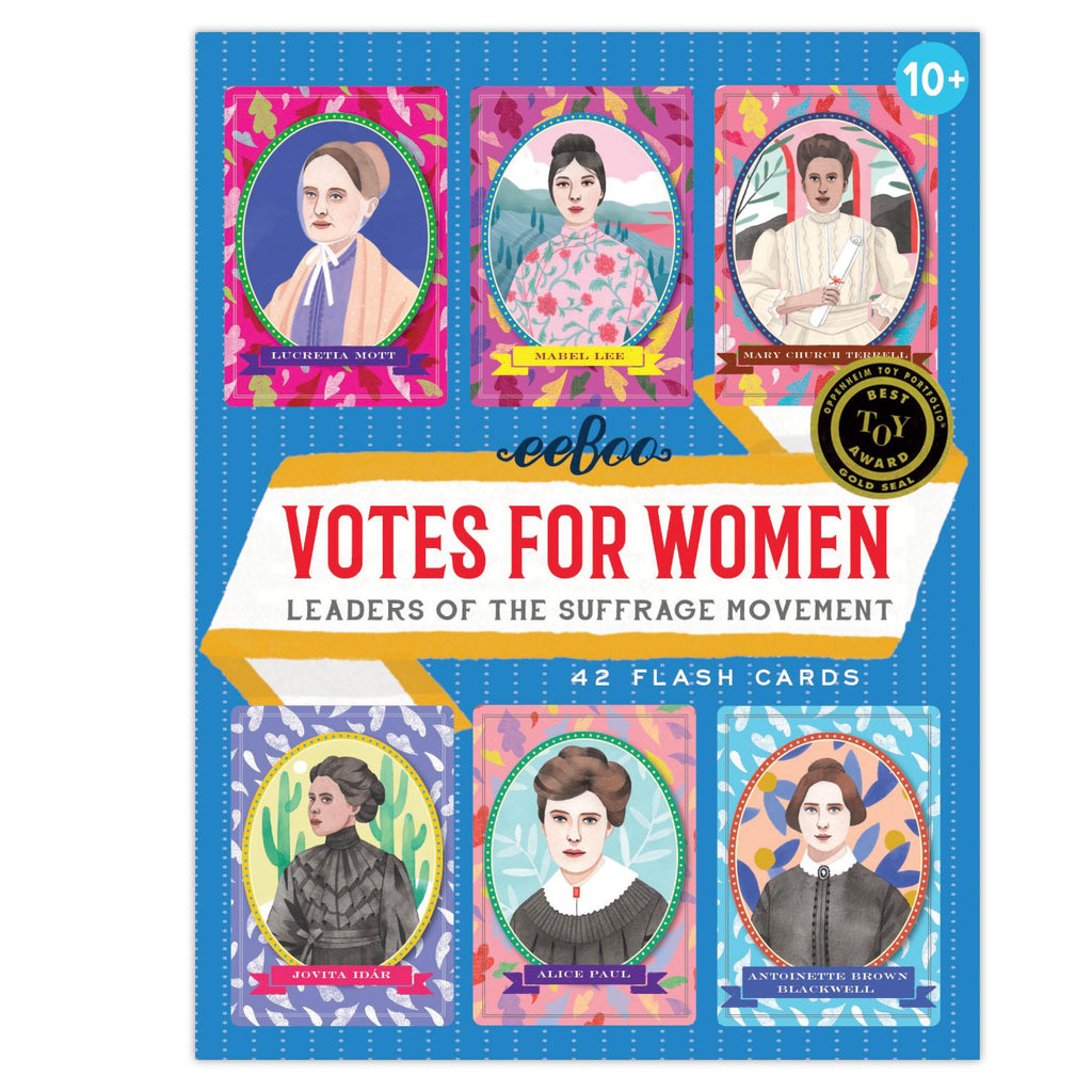 Eeboo Votes for Women Flashcards