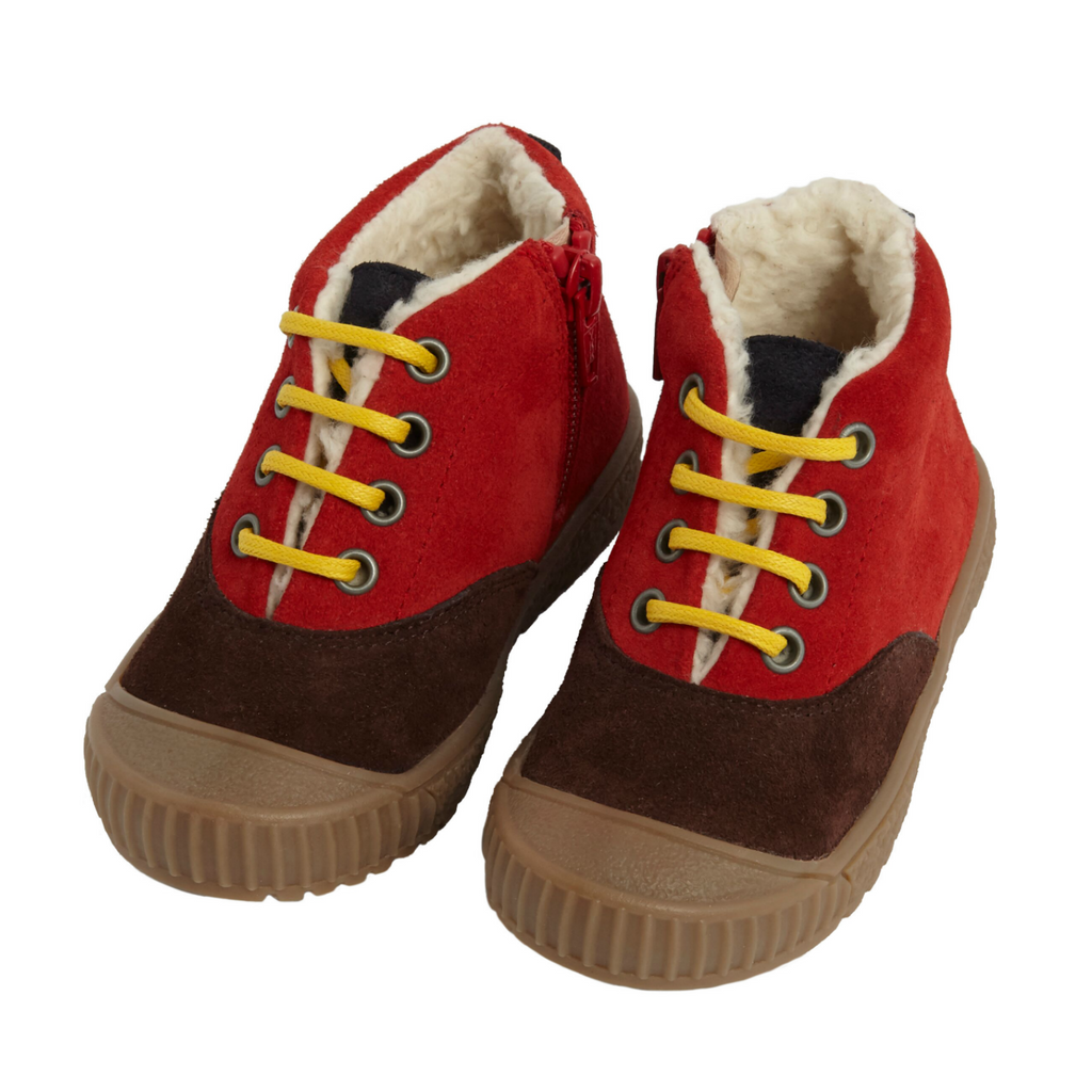 We A Family Red Elm Plimsole Shoes