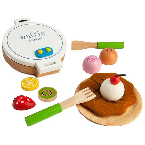 Wooden Waffle Maker