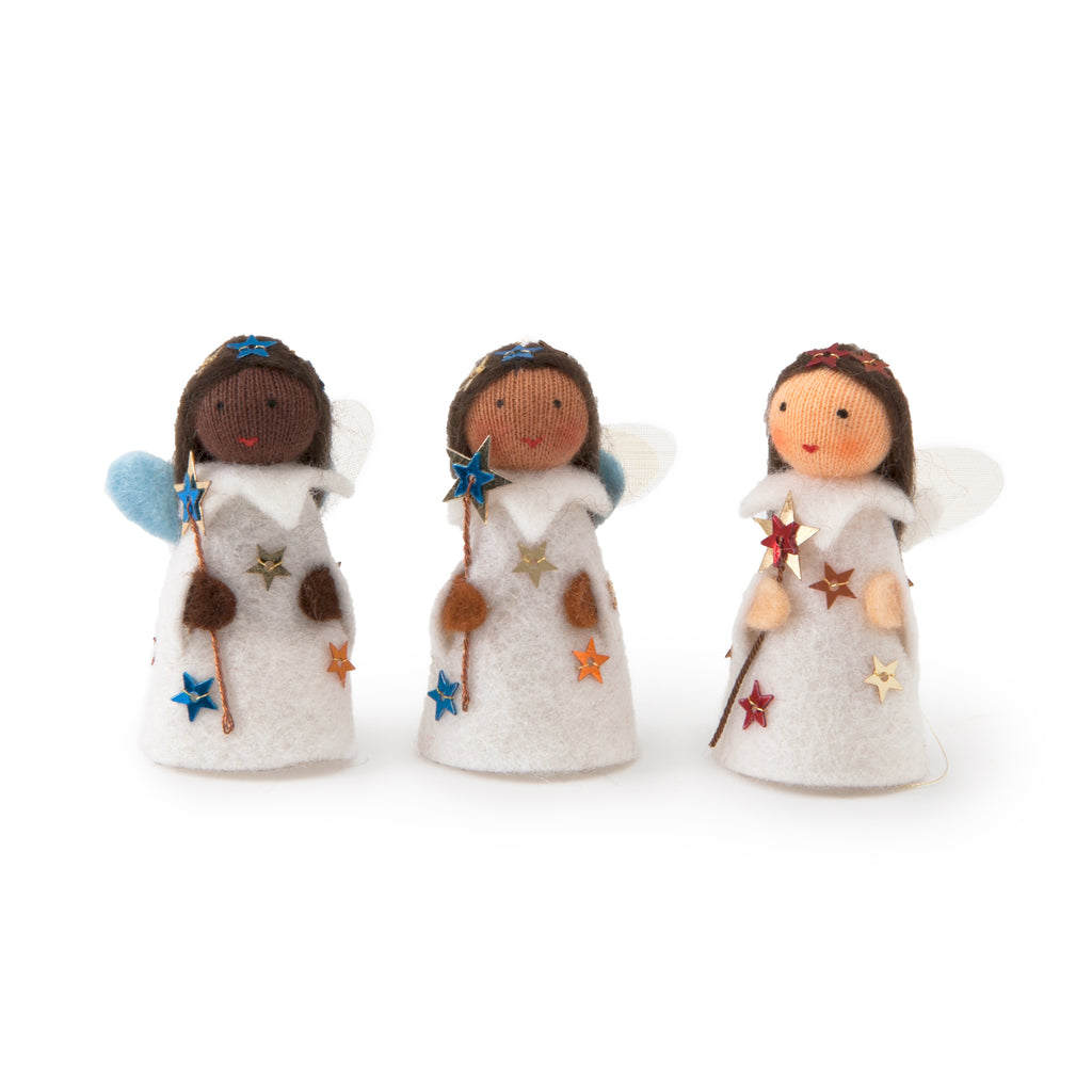 Winter Wish Fairy Ornament Set