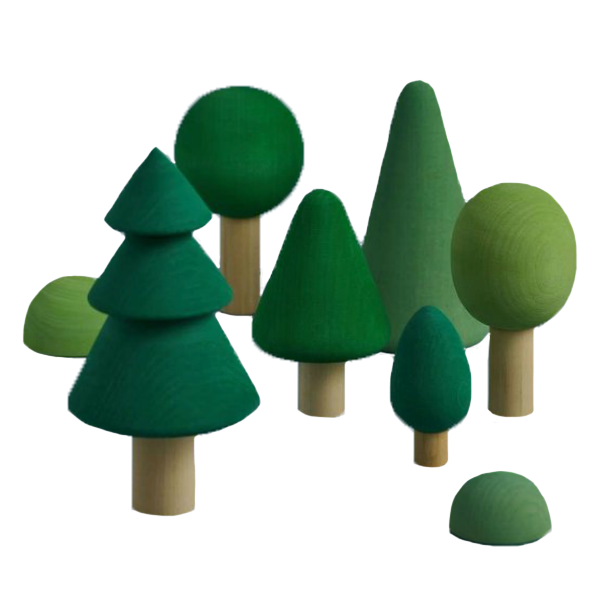 Raduga Grez Wooden Tree Set