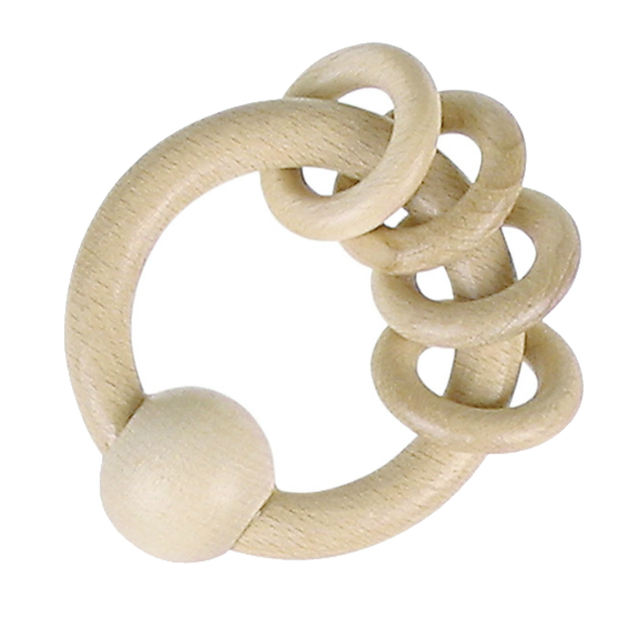 Natural Ring Rattle