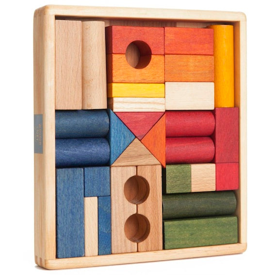 Wooden Story 30 Piece Block Set