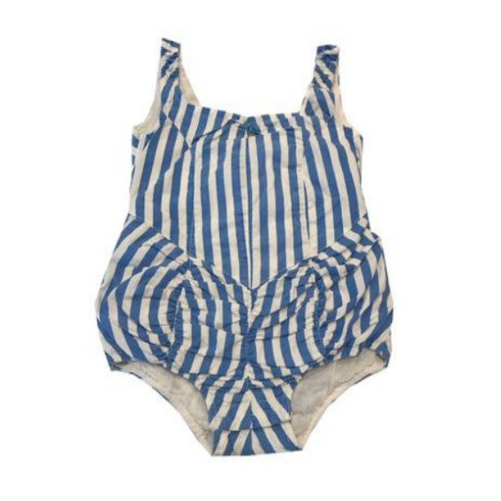 Wovenplay Sky Striped Sunsuit