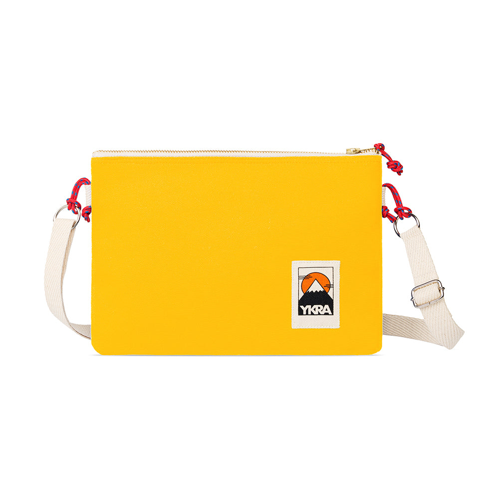 YKRA Yellow Side Pouch