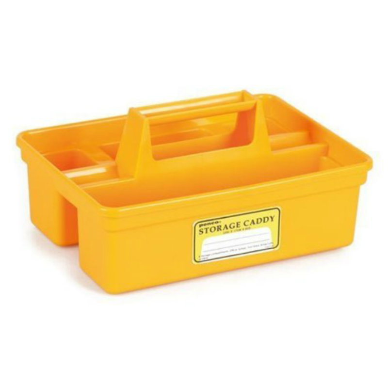 Yellow Storage Caddy