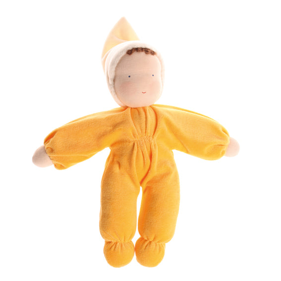 Waldorf Yellow Plush Doll