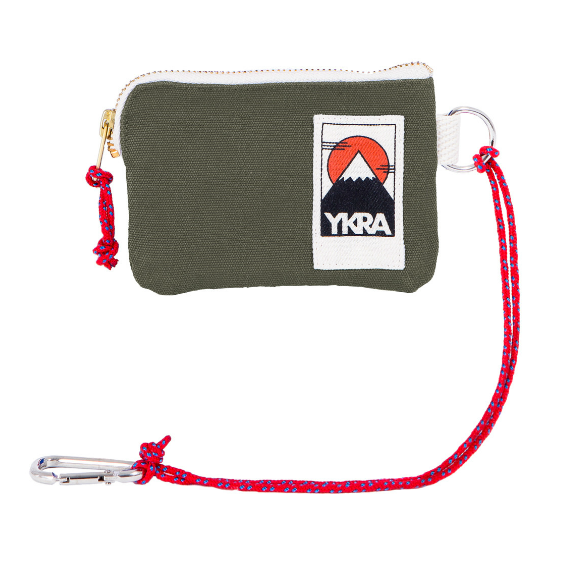 YKRA Khaki Mini Wallet