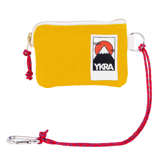 YKRA Yellow Mini Wallet