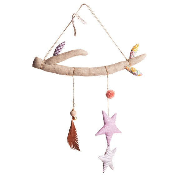 Yume Creations Small Pink Branch Mobile
