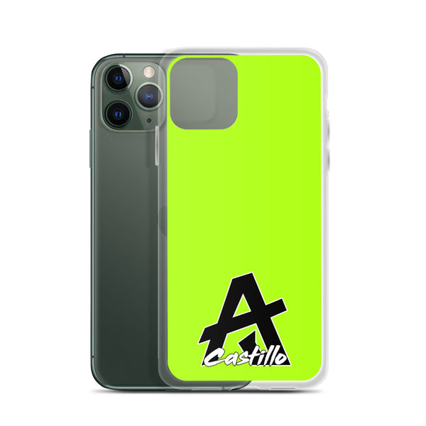 "AJ Castillo Accordions Collection ""Lime Green"" - iPhone Case"