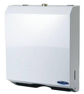 Multi-fold Hand Paper Towel Dispenser with Lock.