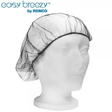 "Hairnet Honeycomb Mesh Brown 21"" ; 100 Hairnets per Box"